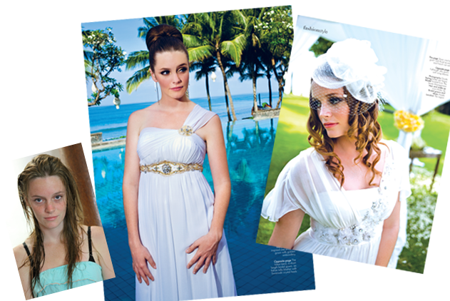 LONA featured on Bali Wedding Magazine - 1 - Lona Bali Makeup
