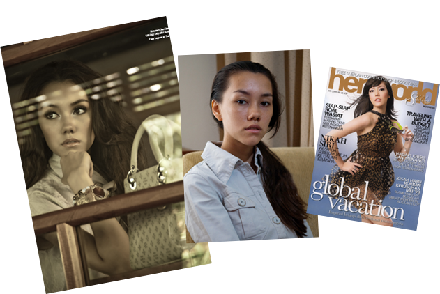 LONA featured on Herworld Magazine - Lona Bali Makeup